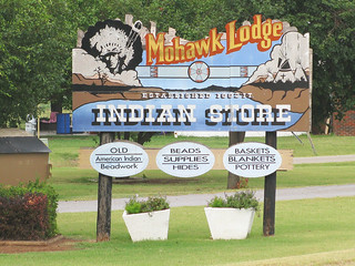 47c Clinton OK - Mohawk Lodge Indian Store | by Johns Never Home
