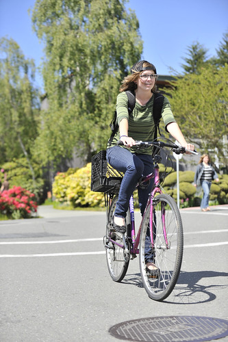 Biking on Campus | by Humboldt State University