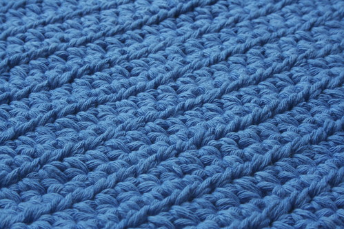 Blue Cotton Rug | by Andie712b