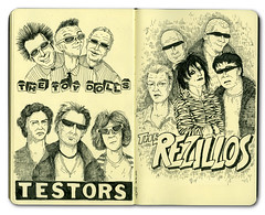 Sketch Punk Rock Bands | by BRUNESKINE®