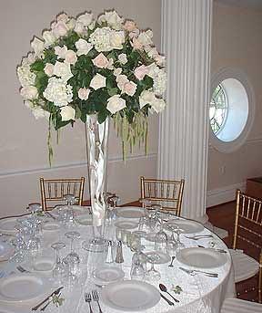 Emejing silk flower wedding centerpieces contemporary styles rose wedding reception centerpiece by beikmann associates flickr elegant hydrangea artificial silk flower mightylinksfo