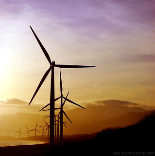 BANGUI WINDMILLS on SUNRISE | by ♥ Maggy Buenaventura ♥