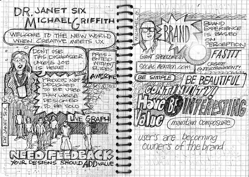 Big[D]esign Conference 09 - Dr. Janet Six / Michael Griffith | by T.Sketch