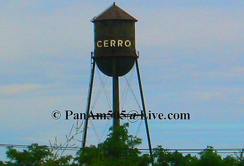 CERRO wire Water tower | This 1920\'s 4 legged small Tin Man … | Flickr