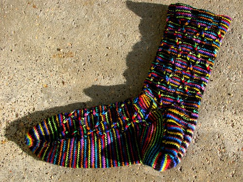 Finished sock | by kafski