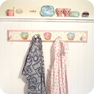 Vintage Bakery inspired Cupcake peg rack #3 | by holiday_jenny