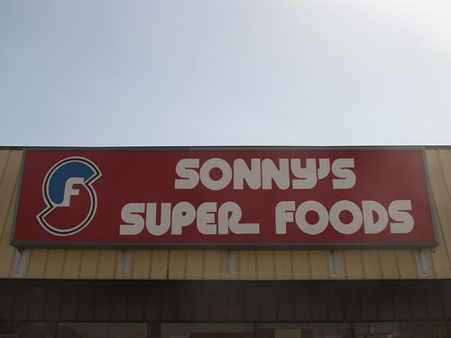 Sonny's Super Foods. | by Draplin