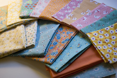 fat quarters for Oh Fransson Quilt along | by jrcraft