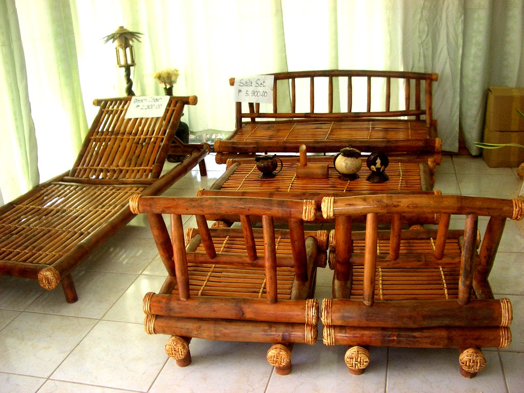 By Antefixus21 This Bamboo Furniture Set Was For Sale In Gimeras,  Philippines. | By Antefixus21