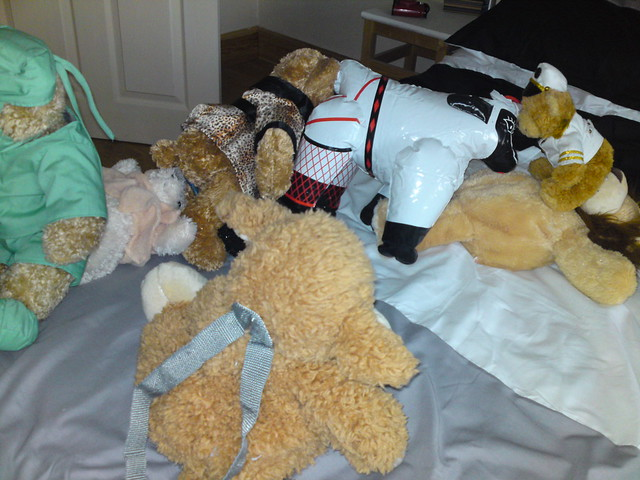 Teddy bears orgy