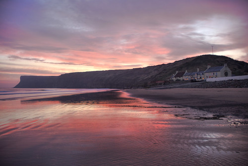 Sun rise over Saltburn 2 | by Vic Nic