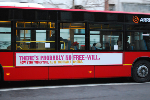 The no free-will bus campaign | by morgantj