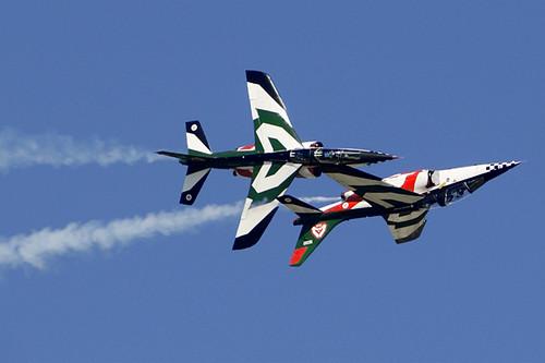 Fighter planes stunts | Nigel | Flickr