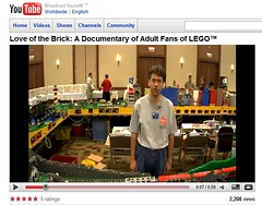 """Love of the Brick: A Documentary of Adult Fans of LEGO"" Steve Demlow 