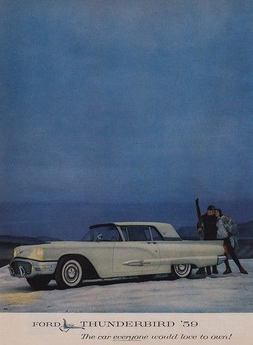 Ford Thunderbird '59 | by The Cardboard America Archives