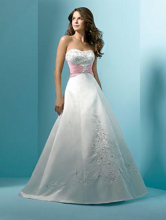 Pink Wedding Dress 13 | Alfred Angelo | PrincesseJen | Flickr