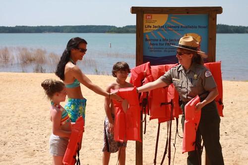 Life Jacket Loaner Program Tanya Grant Park Ranger At