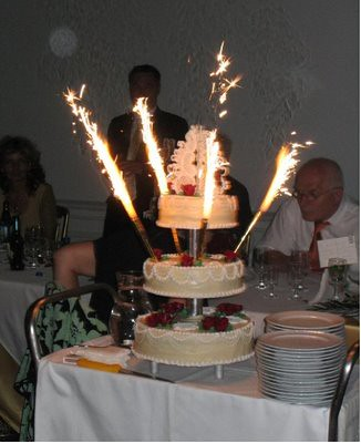wedding cake toppers sparklers big birthday cake sparklers wedding cake topper www 26597