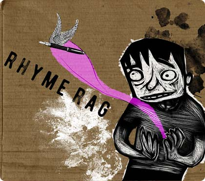 Rhyme Rag cover 2008 | by Alé Mercado