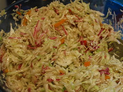 Mayo-free and delicious cole slaw | by mia3mom