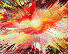 Fluid Painting Explosion | by markchadwickart