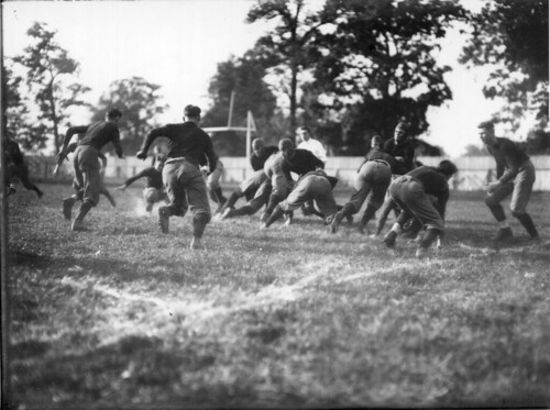 Action at Miami-Georgetown football game 1913 | by Miami U. Libraries - Digital Collections