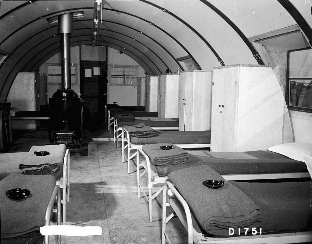 Beau ... 1944 BARRACKS AT CAMP HANFORD   QUONSET HUT INTERIOR | By Juli Kearns  (Idyllopus)