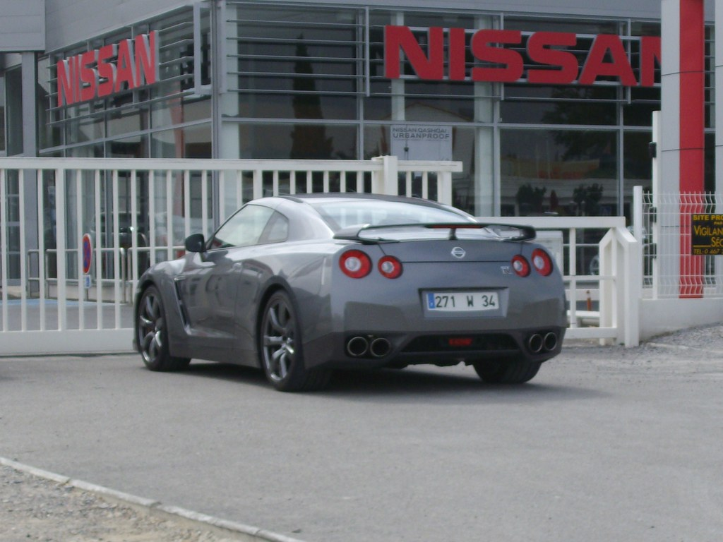 Nissan Gt R 2009 One Of The Rare Immatriculed Flickr By Notrucksnolife