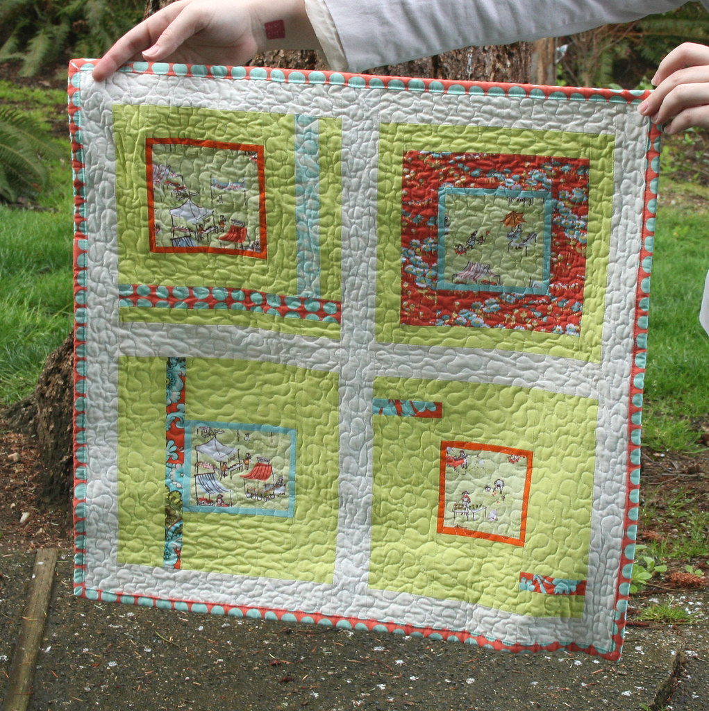 Fancied With Farmers Market Mini Quilt Blogged Lovelylit Flickr