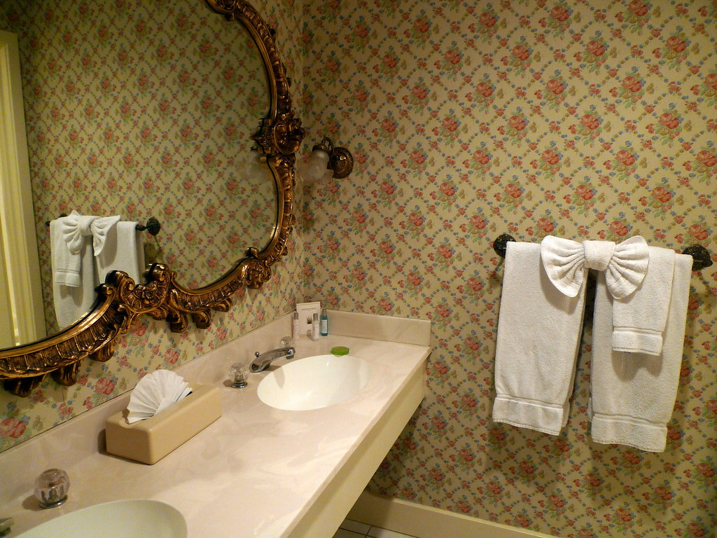 Faux Fancy Hotel Bathroom
