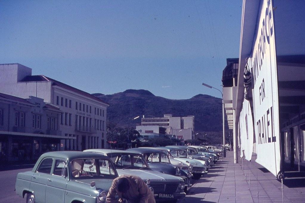Rhodesia Umtali now Zimbabwe Mutare Standard Bank M Flickr