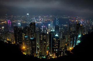 Hong Kong Skyline From Victoria Peak | by Ed Coyle Photography