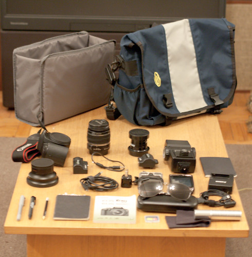 What is in your Bag | by A. Michael Simms
