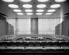 Swedish Drapery in the Economic and Social Council Chamber | by United Nations Photo