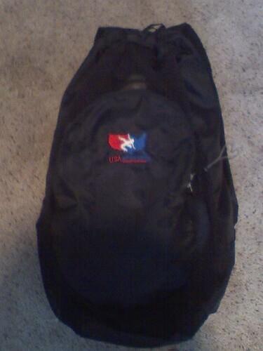 asics usa wrestling bag