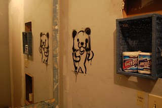 Pedo Bear Stencil | by sparr0