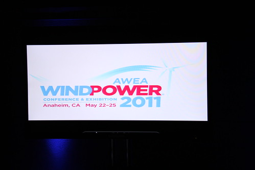 AWEA WINDPOWER Conference & Exhibition in Anaheim, California, May 22-25, 2011 | by American Wind Energy Association