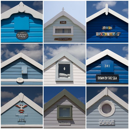 Beach hut names | by ania115