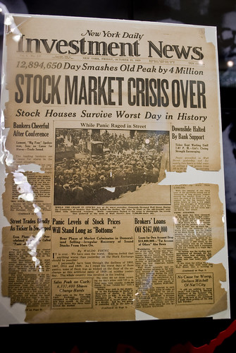 "Stock Market Crisis Over | by Wagner T. Cassimiro ""Aranha"""
