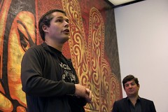 Shepard Fairey at the ICA | by WBUR