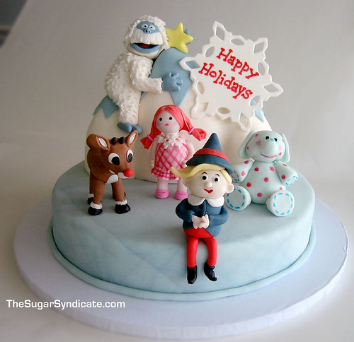 Rudolph Cake Pan