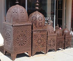 Moroccan outdoor lanterns | by www.E-Mosaik.com
