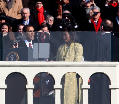 Barack Obama Takes the Oath | by jurvetson