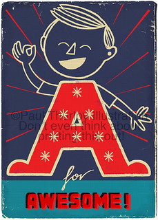 A for Awesome - Updated | by Paul Thurlby