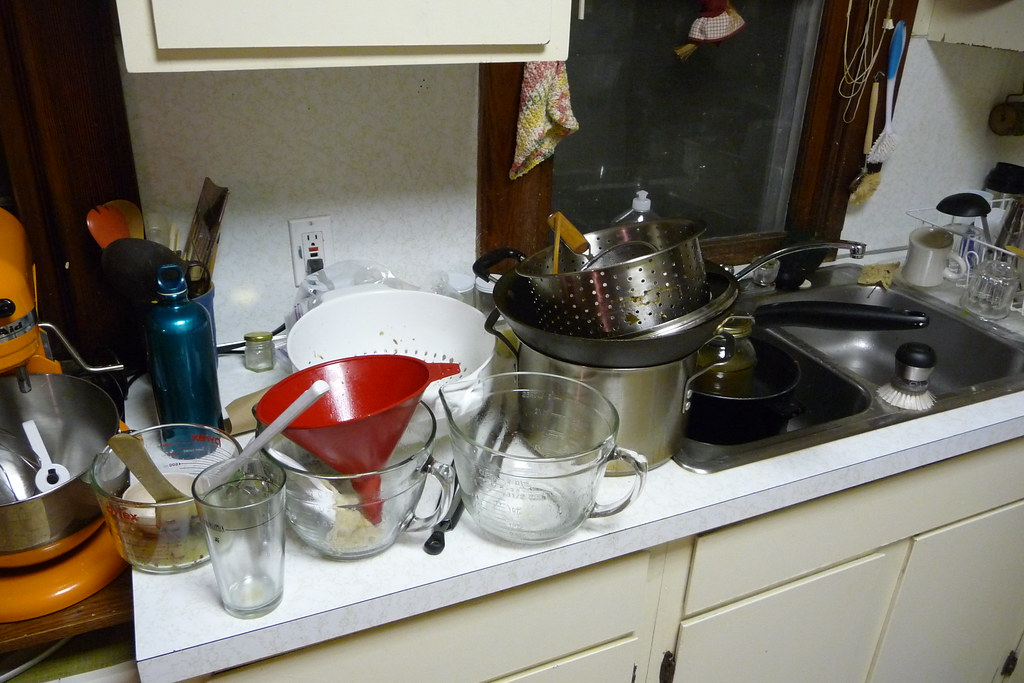 Image result for piles of dirty dishes