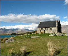 Church of the Good Shepherd, Lake Tekapo, New Zealand | by Lincolnian (Brian) - BUSY, in and out