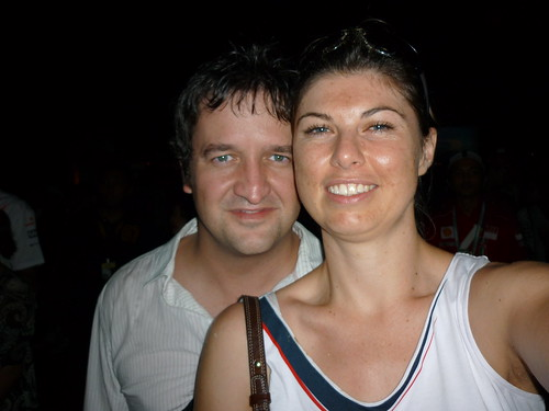 Lorna & me at the Jamiroquai concert | by Louis Rossouw