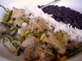 Roast Pork with Green Salsa from Louie's Grill | by swampkitty