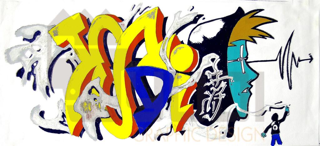 Yudi Graffiti By Yudi Graphic Design