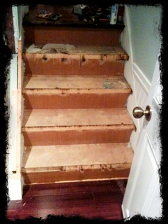 Before and after pics of my side entrance stairs: | by BenLucier